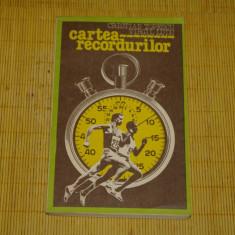 Carte despre Sport - Cartea recordurilor - Cristian Topescu - Virgil Ludu - 1984