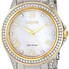 Citizen Women's EM0234-59D Eco-Drive Two-Tone Watch | 100% original, import SUA, 10 zile lucratoare af22508 - Ceas dama