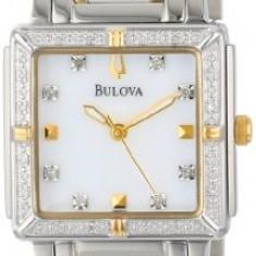 Bulova Women's 98R112 Diamond Accented Two-Tone   100% original, import SUA, 10 zile lucratoare af22508 - Ceas dama