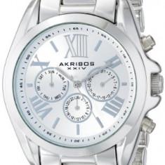 Akribos XXIV Women's AK693SS Ultimate Swiss | 100% original, import SUA, 10 zile lucratoare af22508 - Ceas dama