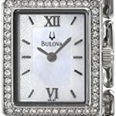 Bulova Women's 96L157 Crystal Bracelet Watch   100% original, import SUA, 10 zile lucratoare af22508 - Ceas dama