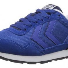 Adidasi sport originali HUMMEL-din piele naturala-adidasi barbati-40, 41, 42, 44, Culoare: Albastru