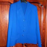 Sacou albastru - Sacou dama