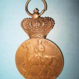 Medalia-Carol1-100 ani 1839-1939-Carol2-Intemeietorul dinastiei si Regatului. - Medalii Romania, An: 1878
