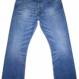 Blugi LEVI'S 512 - (MARIME: W 36 / L 32) - Talie = 93 CM / Lungime = 112 CM - Blugi barbati Levi's, Culoare: Albastru, Prespalat, Bootcut, Normal