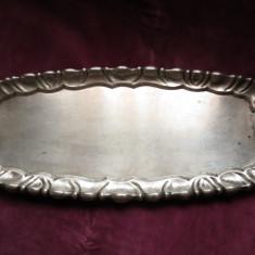 Tava din argint masiv - Biedermeier