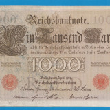 Germania 1000 mark 1910 2 - bancnota europa