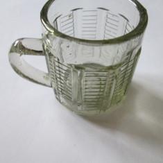 MINI HALBA/CANITA DECOR ANII 60, Cristal/Sticla