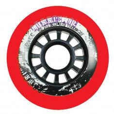 Set 4 Roti Powerslide Hurricane 80mm/85a Rosii