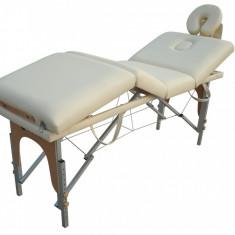 Masa masaj - Pat, masa de masaj cosmetica pliabil de aluminiu Pret redus!