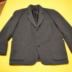Sacou si vesta barbati 72% lana / HAINA si vesta mar. XL - ASCO