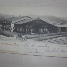 CARTE POSTALA SALUTARI DIN OCNELE MARI, 1902 - Carte Postala Oltenia pana la 1904, Circulata, Fotografie