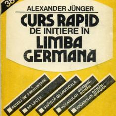 Ghid de conversatie - Alexander Junger - Curs rapid de initiere in limba germana - 455781