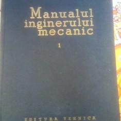 Carti Mecanica - Manualul Inginerului Mecanic