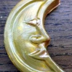 Magnet de frigider - luna - handmade
