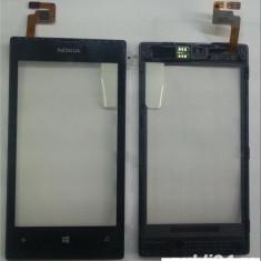 Geam cu touchscreen Nokia Lumia 520 cu Rama Orig China - Touchscreen telefon mobil
