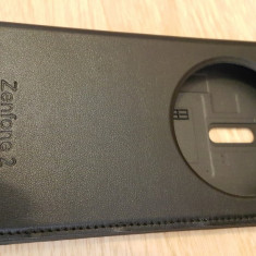 Husa Asus Zenfone 2 5.5 inch - Husa Telefon Asus, Negru, Piele Ecologica, Carcasa