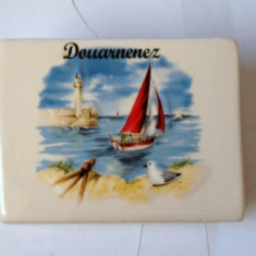 Suport servetele din material ceramic decorativ adus din franta