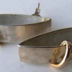 Cercei vechi din argint - Cercei argint