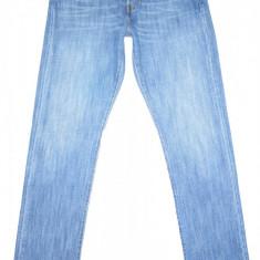 LEVI'S 501 de dama - (MARIME: W 24) - Talie = 80 CM / Lungime = 108 CM - Blugi dama Levi S, Marime: 29, Culoare: Albastru, Drepti, Normal