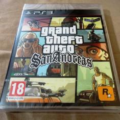 Jocuri PS3 Rockstar Games, Shooting, 18+, Single player - Joc GTA San Andreas, PS3, original si sigilat 69.99 lei! Alte sute de jocuri!