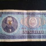 Bancnota 100 lei anul 1966
