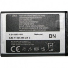 Baterie telefon, Li-ion - Acumulator Samsung S5620 Monte cod: AB463651B / AB463651BA / AB463651BE / AB463651BEC / AB463651BU