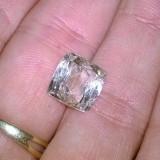 Bijuterie Pietre pretioase - Kunzit superb gri verzui square chessboard emerald cut pachistanez 100% natural!! ideal ptr inel sau pandantiv!!