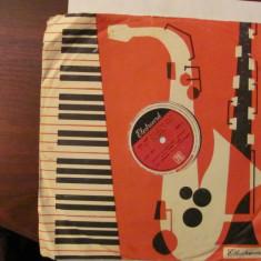 PVM - Disc turatie 78 (patefon, pick-up) Trio Grigoriu - Muzica Pop electrecord, VINIL