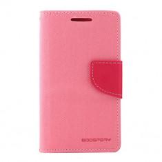 Husa, Roz, Piele Ecologica, Toc - Toc My-Fancy Samsung Galaxy S2 I9100 Roz