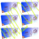 Foite tigari - 6x TUBURI CLUB ELEGANT 1200 tuburi, filtre tigari/cutie pt injectat tutun/tabac