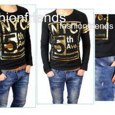 Bluza tip ZARA - NEW YORK - bluza barbati - bluza slim fit -3579