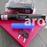 Green laser pointer 500 MW laser verde 3D cu accumulator