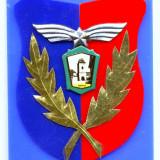 MEDALIE PREMIU EXPOZITIA FILATELICA BRASOV SEMN ARMA AVIATIE 65/85 MM - Medalii Romania
