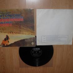 ZABRISKIE POINT-coloana sonora a filmului; muzica de PINK FLOYD(vinil RARICEANU) - Muzica soundtrack Altele