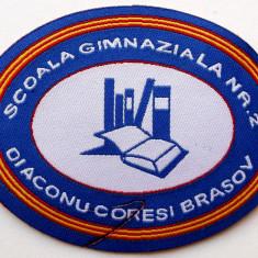 ROMANIA ECUSON TEXTIL SCOALA GIMNAZIALA NR. 2 DIACONU CORESI BRASOV **