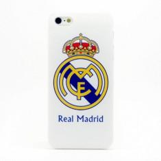 Husa Real Madrid pentru iPhone 6 simplu + folie ecran - Husa Telefon Apple, Albastru, Plastic, Carcasa