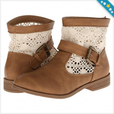 100% AUTENTIC - Pantofi CHARLES ALBERT - Cizme dama Tommy Hilfiger, Femei - Cizme Primavara, Vara - Ghete Crosetate - Ghete Originale