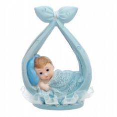 Figurina tort botez, Bleu