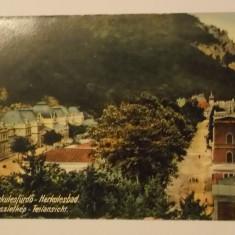 Baile Herculane, Herkulesfurdo, Herkulesbad, vedere / ilustrata / carte postala, circulata 1914