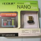 Placa retea wireless Adaptor Wireless USB card placa de retea EP N8508GS placa retea USB Wireless Wifi Network Mini placa.MOTTO: CALITATE NU CANTITATE