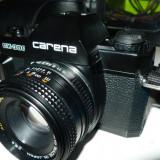 Vand aparat foto Slr Carena CX - 300 + obiectiv 50mm Chinon - Obiectiv DSLR
