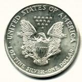 SUA STATELE UNITE ALE AMERICII  1 DOLAR DOLLAR 2002 ARGINT UNCIE STARE AUNC