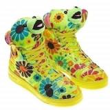 vand adidas / gheata ADIDAS JEREMY SCOTT FLOWER POWER - PE STOC !CURIER GRATUIT!