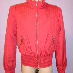 Geaca rosie Armani Jeans 100% originala - Geaca dama Armani, Marime: M/L, Rosu
