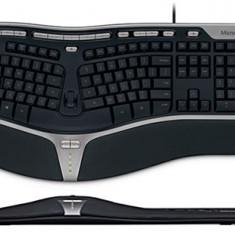 Vand Tastatura Microsoft Natural Ergo 4000, Cu fir, USB