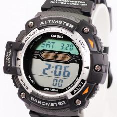 Vand Ceas Casio SGW 300-H, curea metalica. Twin sensor (Altimetru + Termometru) - Ceas barbatesc Casio, Sport, Quartz, Inox