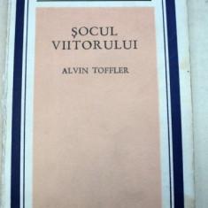 SOCUL VIITORULUI de ALVIN TOFFLER 1973 - Carte Psihologie