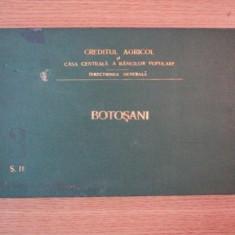 Harta Romaniei - HARTA CAILOR DE COMUNICATIE DIN JUDETUL BOTOSANI IN ANUL 1903
