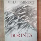 DORINTA de MIHAI EMINESCU , COPERTA SI ILUSTRATII DE MIRCEA DUMITRESCU